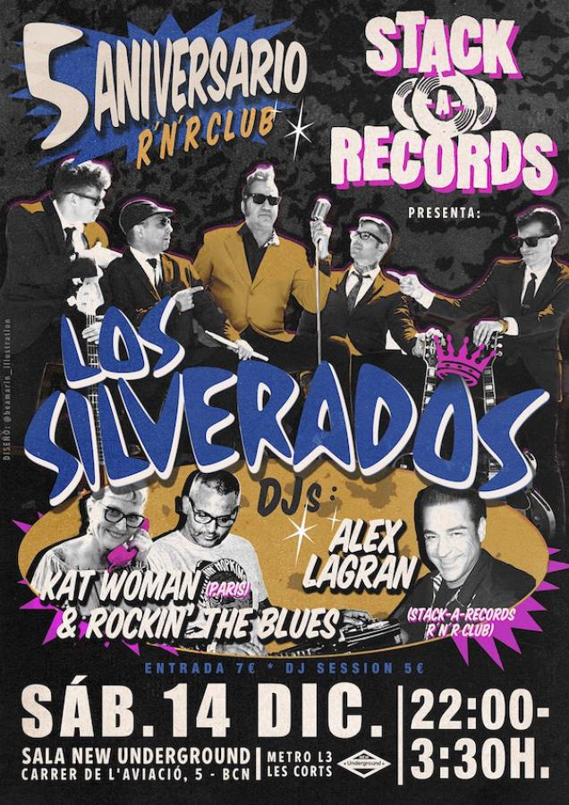 5º Aniversario Stack-A-Records R