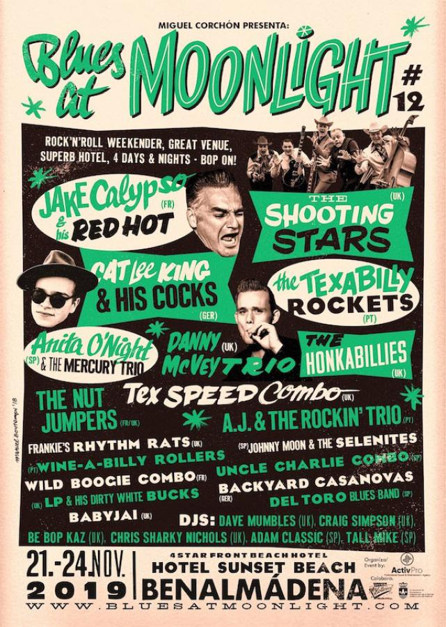 Blues at Moonlight #12 poster