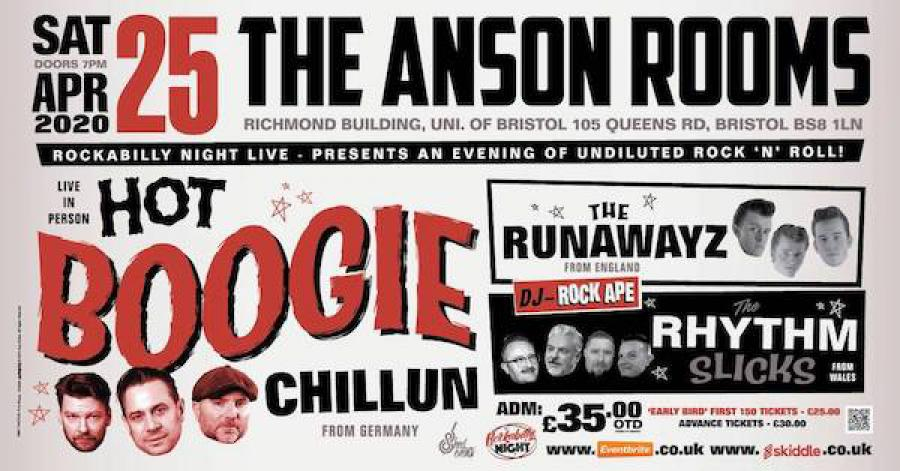 Hot Boogie Chillun + Special Guests poster