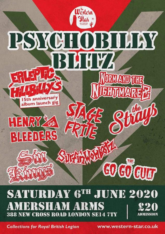 Psychobilly Blitz Western Star All-dayer! poster