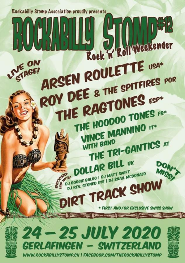 Rockabilly Stomp #12 poster