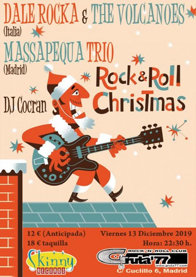 Skinny Christmas - Dale Rocka & The Volcanoes + Massapequa Trio poster