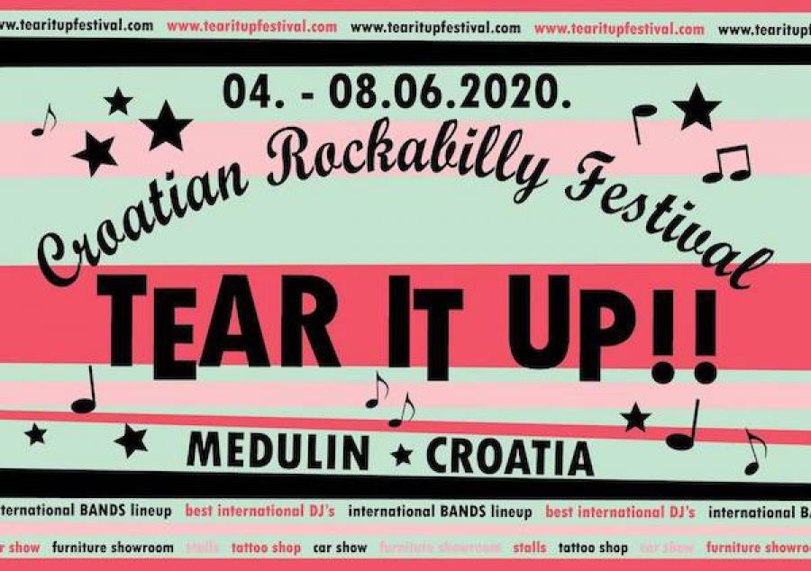 Tear It Up!! Festival 2020 poster