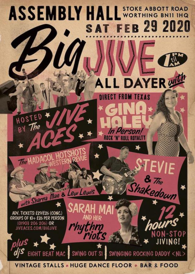 The Big Jive All-Dayer 2020 poster