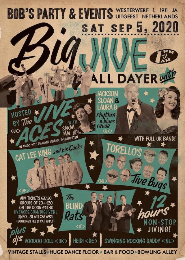 The Big Jive All-Dayer Netherlands poster