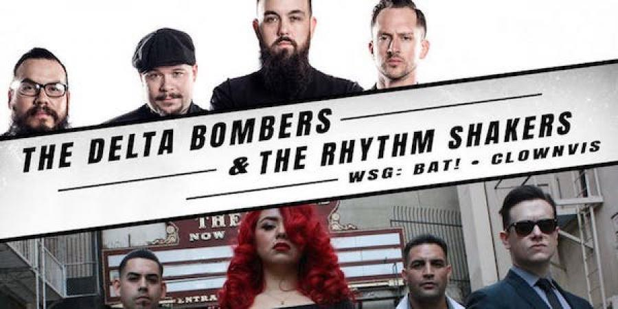 The Delta Bombers + The Rhythm Shakers poster