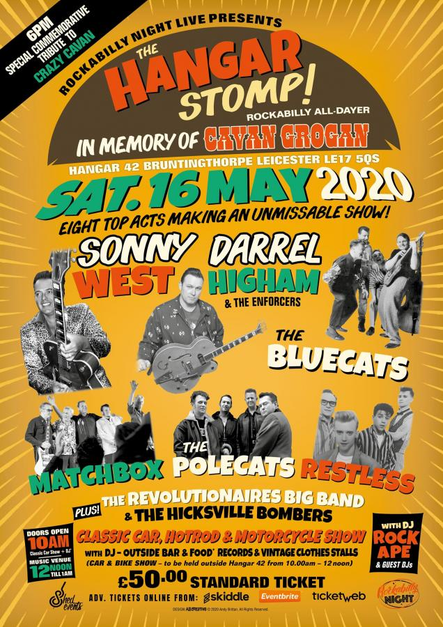 The Hangar Stomp All-Dayer poster