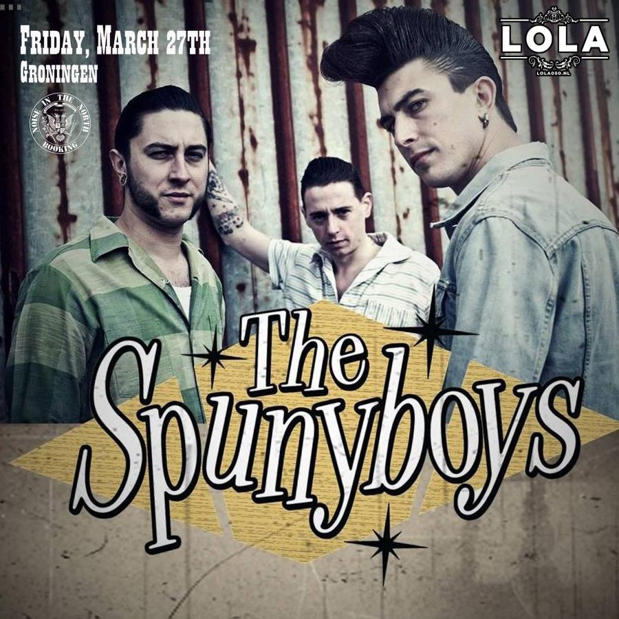 The Spunyboys live at Lola poster