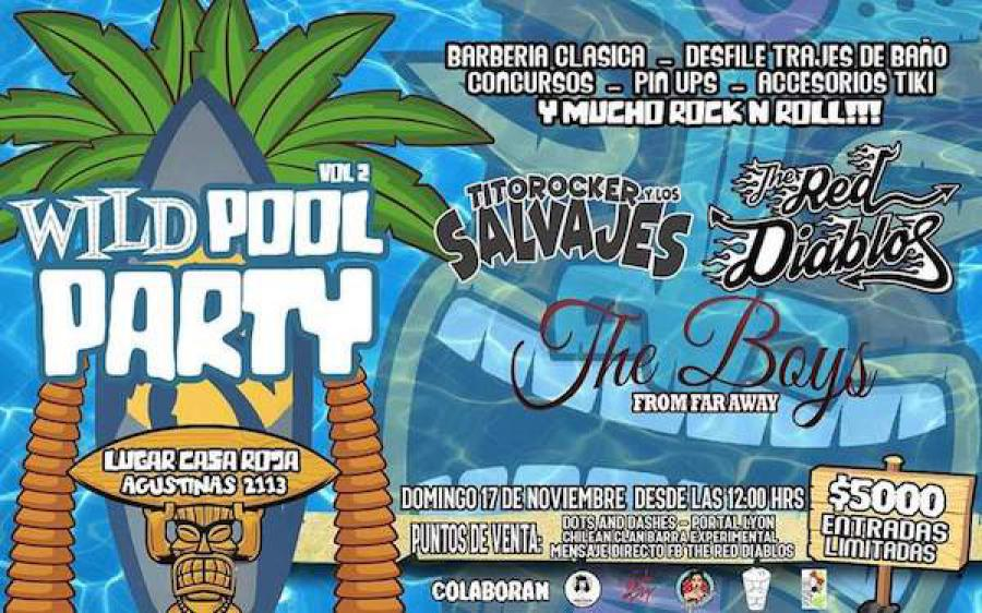 Wild Pool Party Vol2 poster