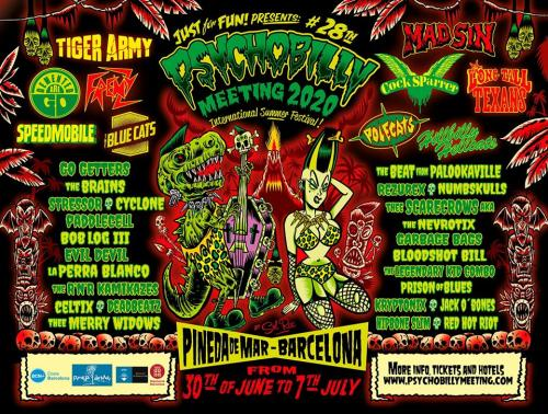 28th Psychobilly Meeting Festival 2020
