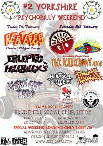 2nd Yorkshire Psychobilly Weekend