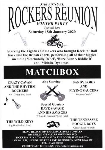 37th Annual Rockers Reunion Winter Party