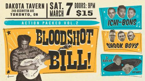 Action Packed Vol.2 Bloodshot Bill + Ichi-Bons + The Shook Boys