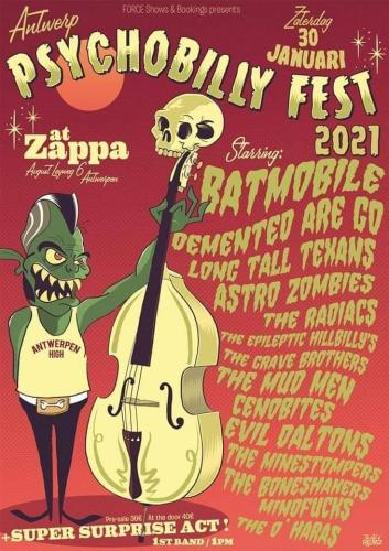 Antwerp Psychobilly Fest 2021