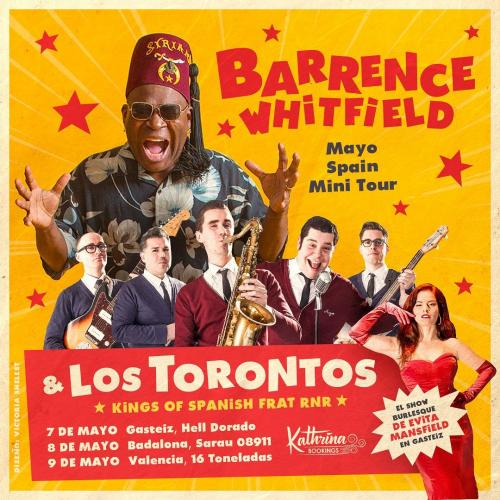 Barrence Whitfield + Los Torontos Tour