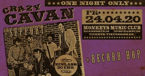 Crazy Cavan 'n' the Rhythm Rockers - live in Hamburg