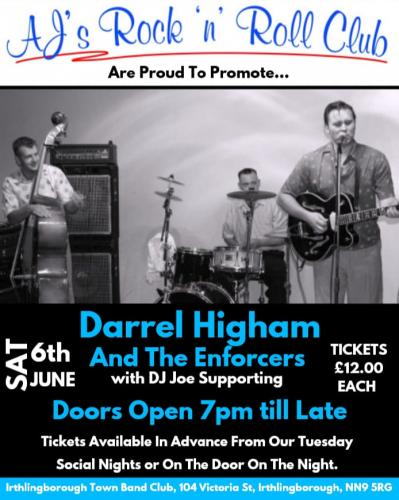Darrel Higham & The Enforcers - AJ's Rock'n'Roll Club