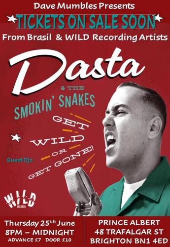 Dasta & The Smokin Snakes @ Brighton