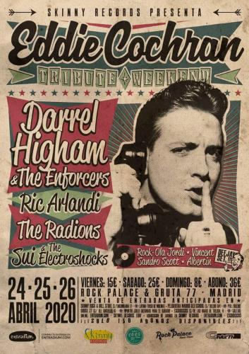 Eddie Cochran Tribute Weekend w/ Darrel Higham