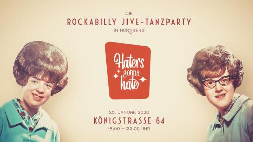 Haters gonna hate · Januar 2020 · Rockabilly Jive-Tanzparty