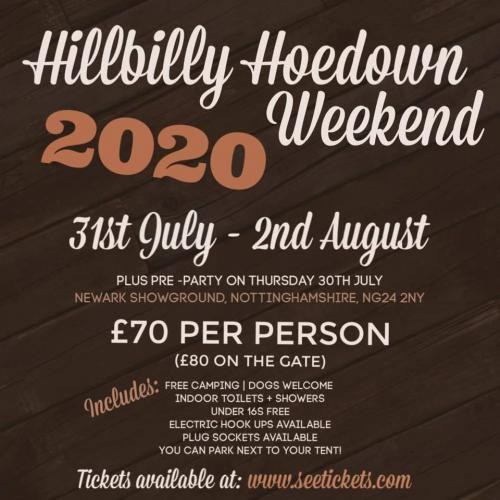 Hillbilly Hoedown Weekend 2020