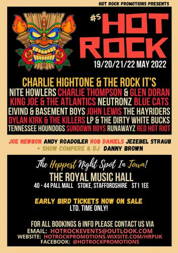 Hot Rock Weekender 2022