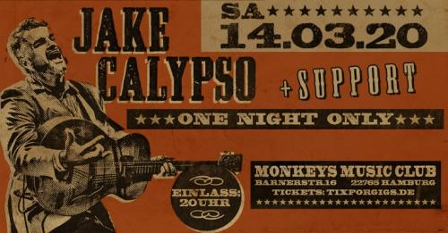 Jake Calypso & His Red Hot - live in Hamburg