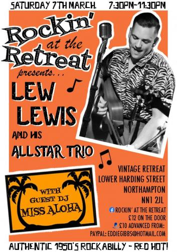 Lew Lewis and his All Star Trio - Rockin' at the Retreat