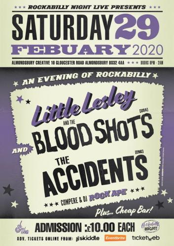 Little Lesley and The Bloodshots + The Accidents