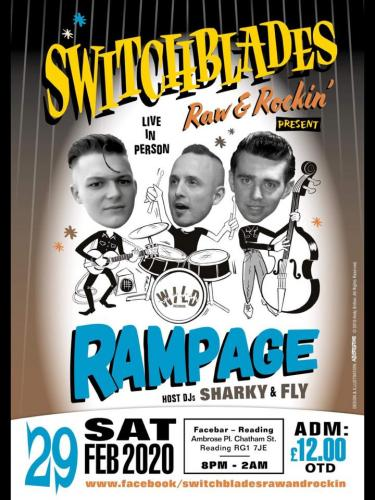 Rampage - Switchblades Raw & Rockin'