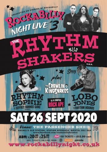 Rockabilly Night Live #3: The Rhythm Shakers + Special Guests