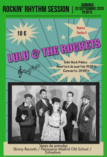 Rockin' Rhythm Sessions #1 - Lulú & the Rockets