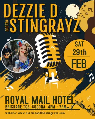 Royal Mail Goodna Hosts Dezzie D and The Stingrayz