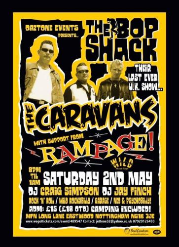 The Bopshack! - The Caravans + Rampage