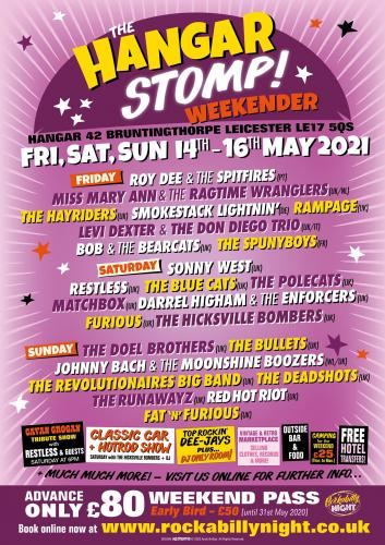 The Hangar Stomp Weekender 2021
