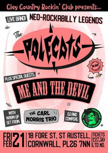 The Polecats @ Clay Country Rockin' Club
