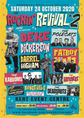 The Rockin' Revival #2 - Rockabilly All-Dayer
