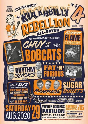 The South West Rockabilly Rebellion #4