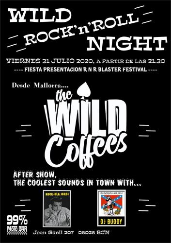 Wild Rock'n'Roll Night - The Wild Coffees