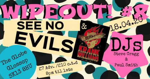 Wipeout! #8 - See No Evils + Krank Williams